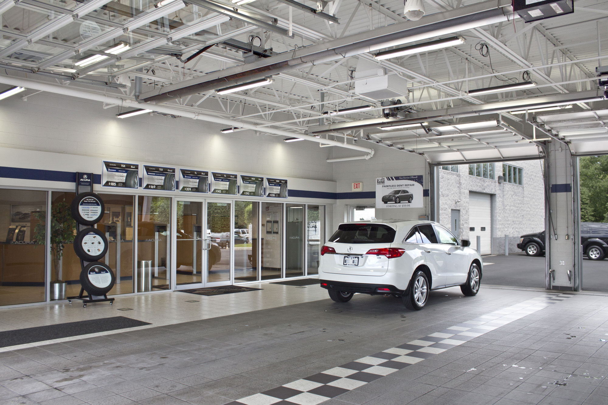 Bobby Rahal Acura New and Used Car Dealer and Service Department