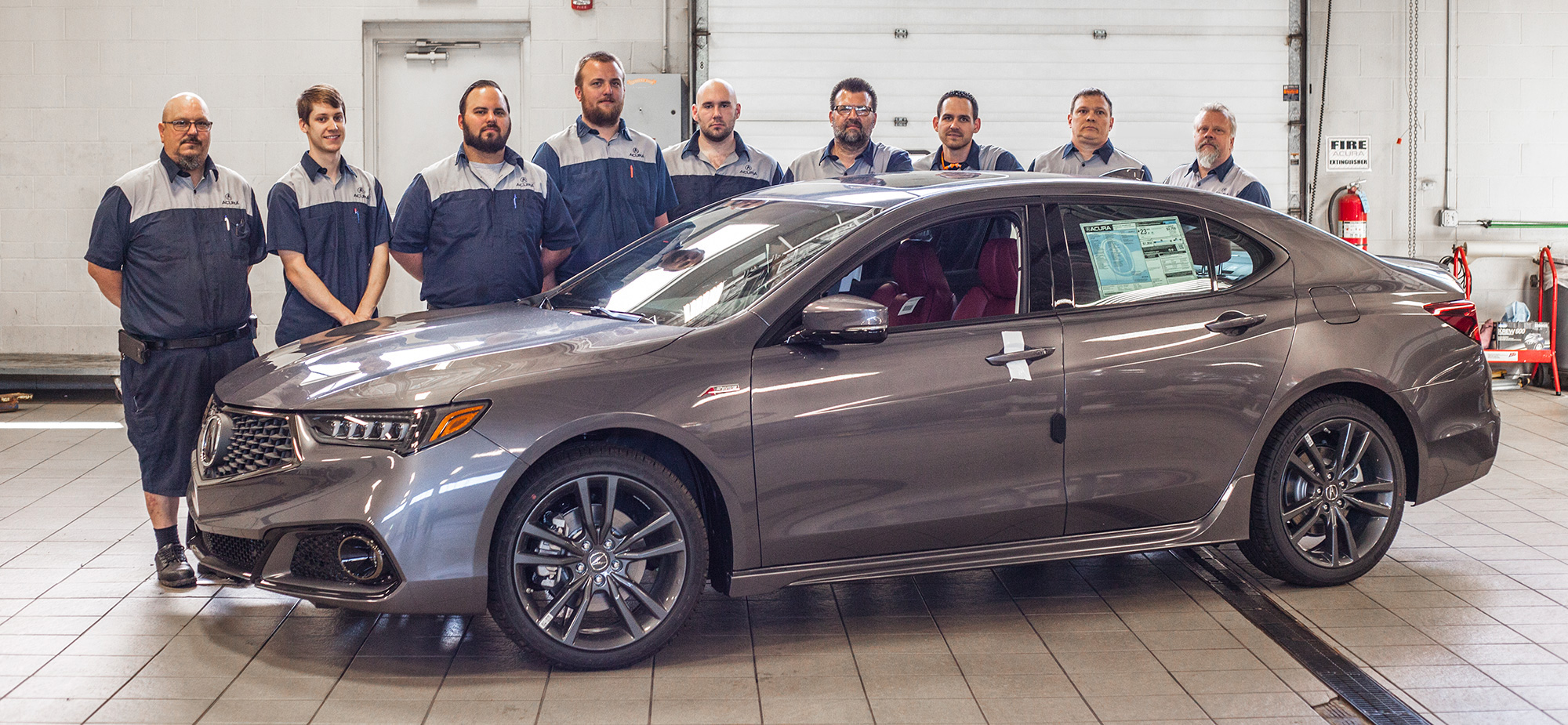 Acura trained technicians in Bobby Rahal Acura Service - Mechanicsburg, PA