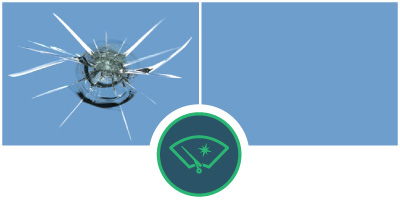 before and after of windshield repair