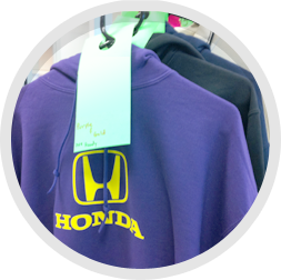 Assorted Color Honda Sweatshirts